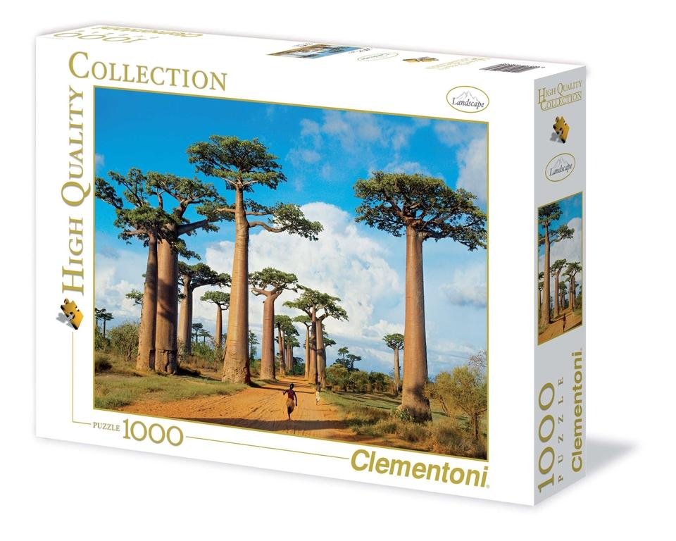 Clementoni Puzzle 1000 Madagaskar