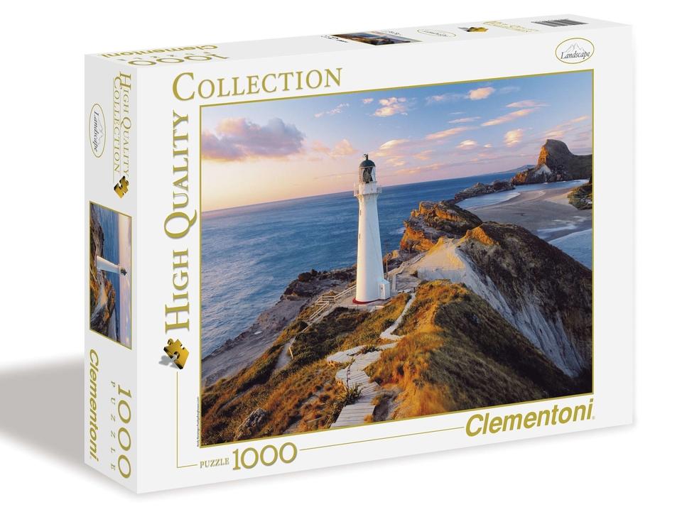 Clementoni Puzzle 1000 Maják Nový Zeland