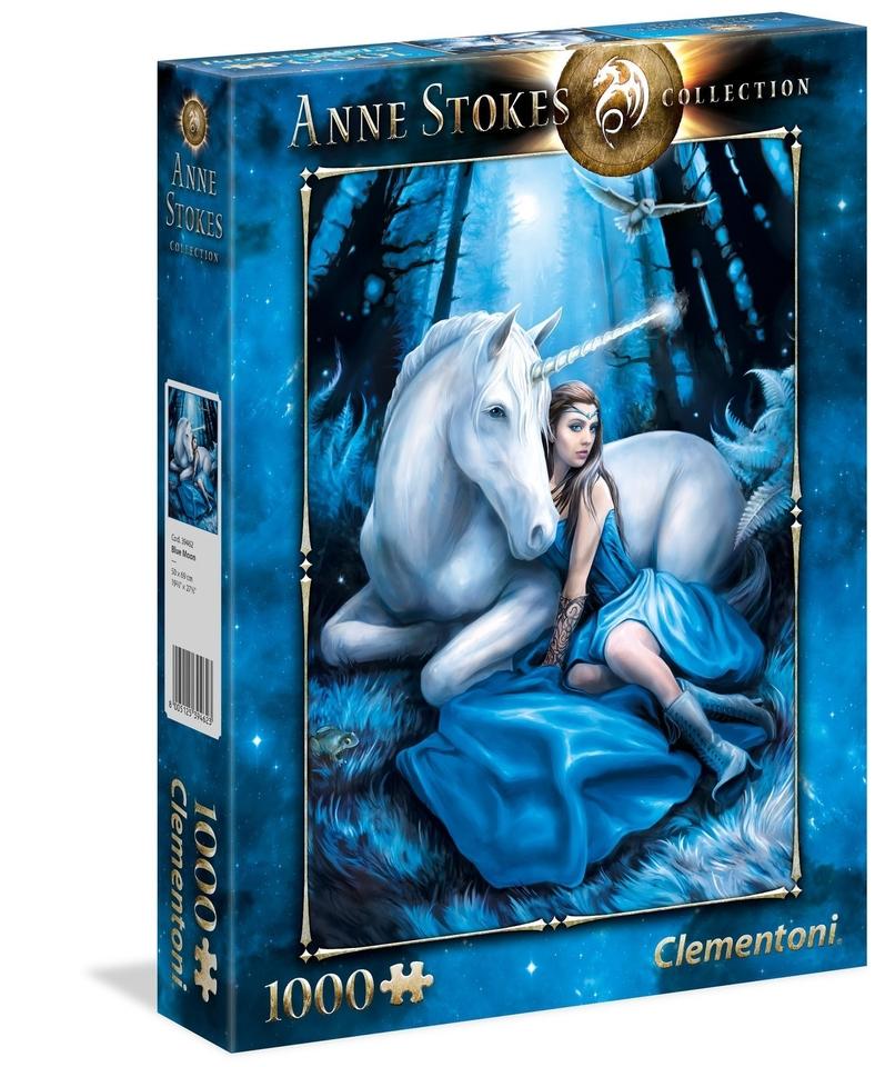 Clementoni puzzle 1000 Modrý mesiac