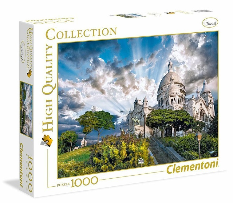 Clementoni Puzzle 1000 Montmartre