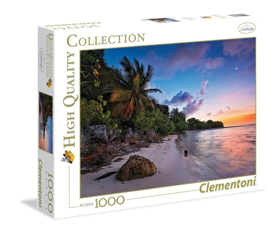 Clementoni Puzzle 1500 More a pláž