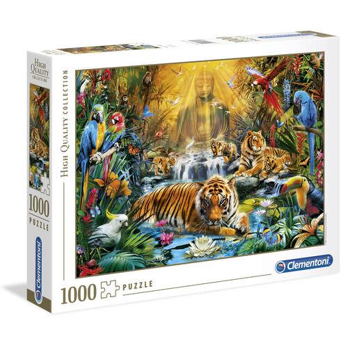 Clementoni Puzzle 1000 Tiger