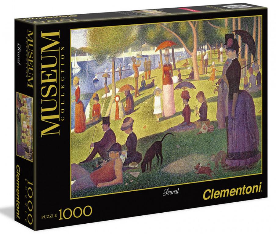 Clementoni Puzzle 1000 Seurat Nedelné popoludnie