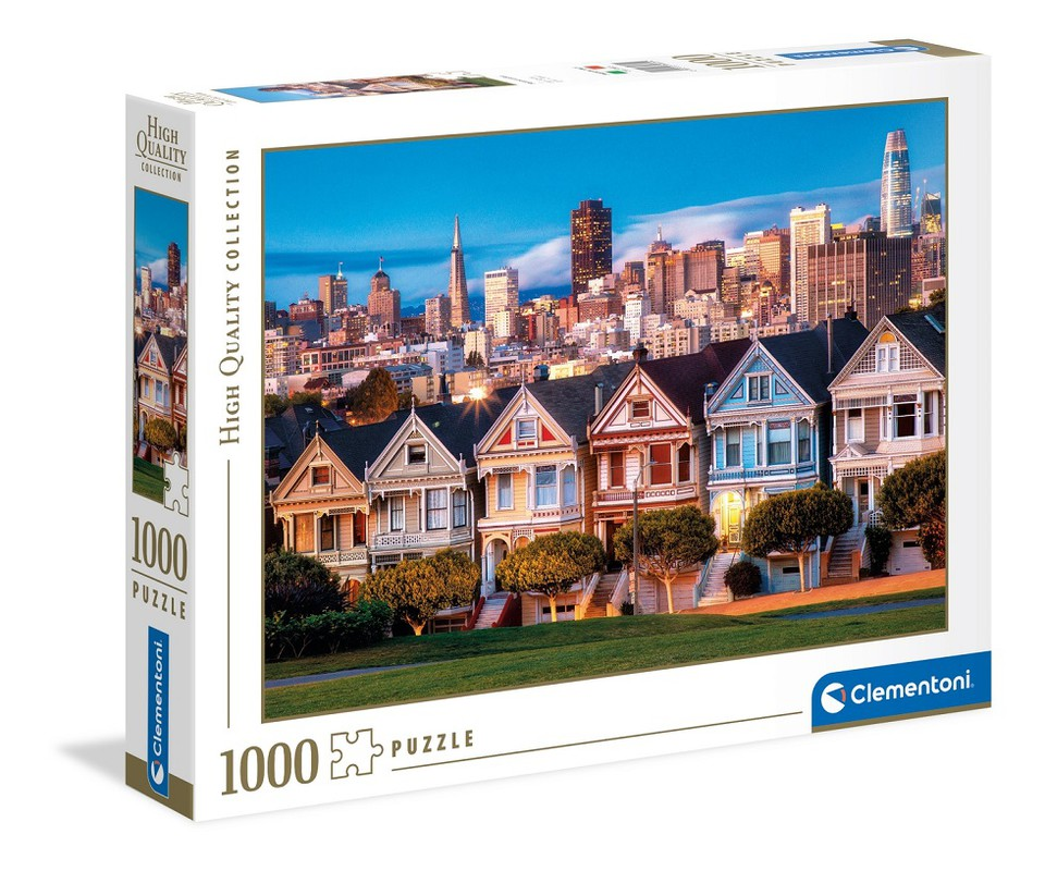 Clementoni Puzzle 1000 Painted Ladies