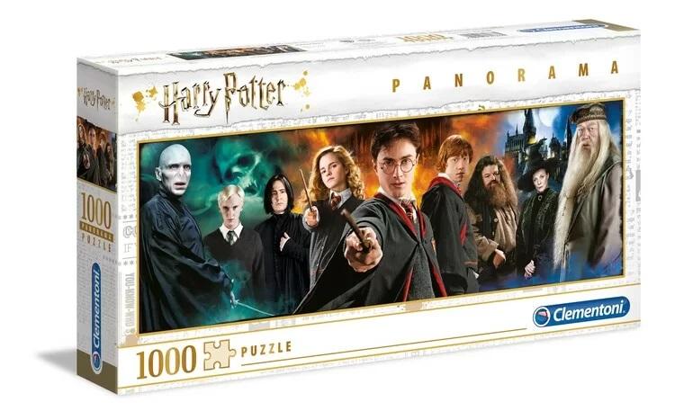 Clementoni Puzzle 1000 Panorama Harry Potter