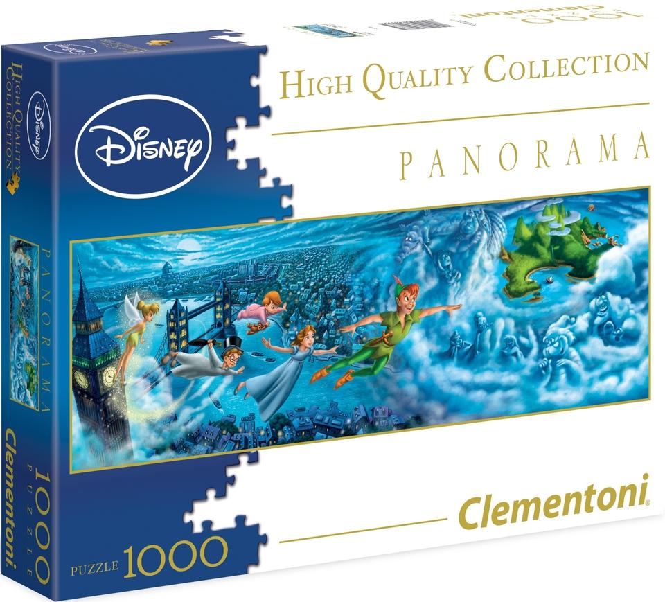 Clementoni Puzzle 1000 Peter Pán