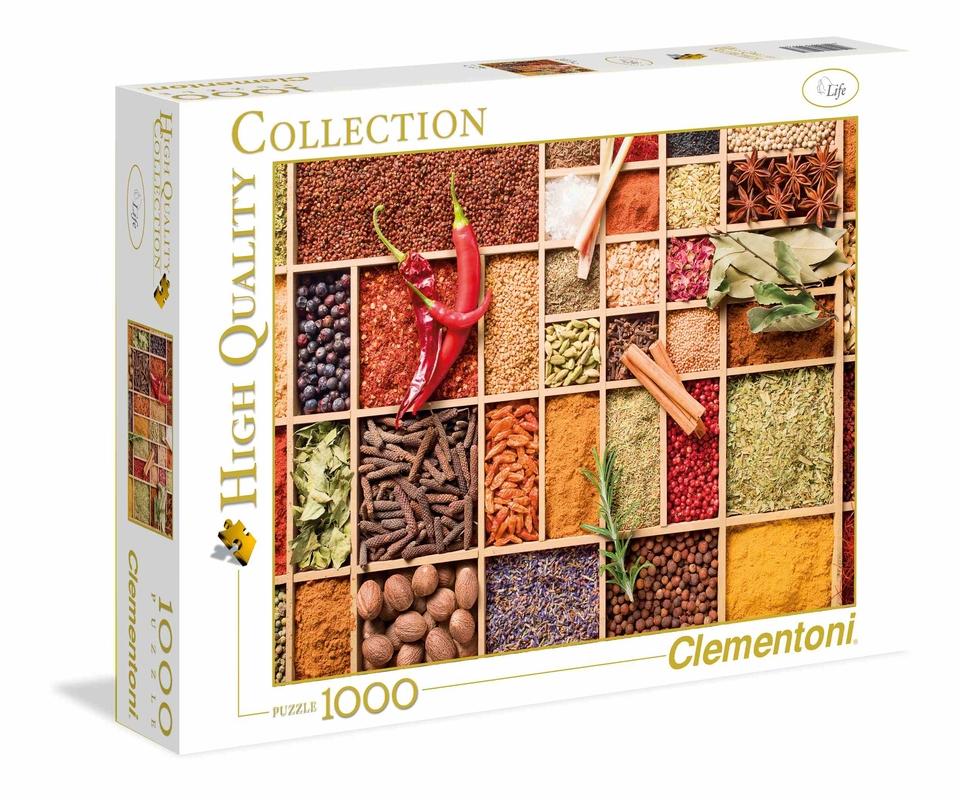 Clementoni Puzzle 1000 Pikantné korenie
