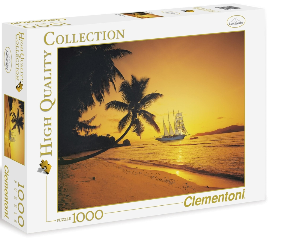 Clementoni Puzzle 1000 Seychelly