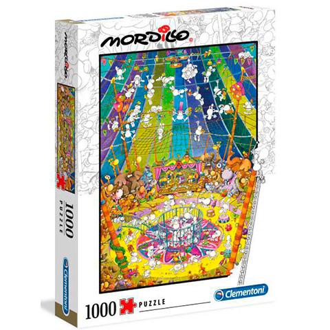 Clementoni Puzzle 1000 Mordillo Show