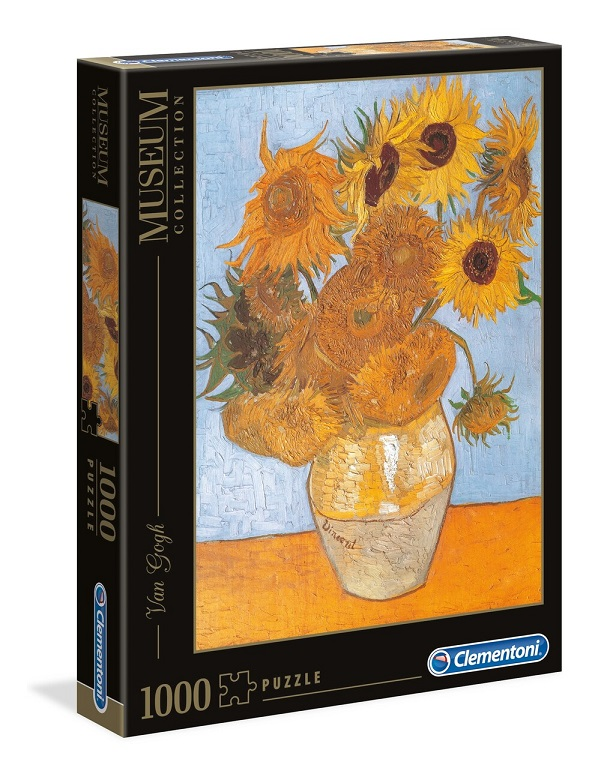 Clementoni Puzzle 1000 Van Gogh/Slnečnica