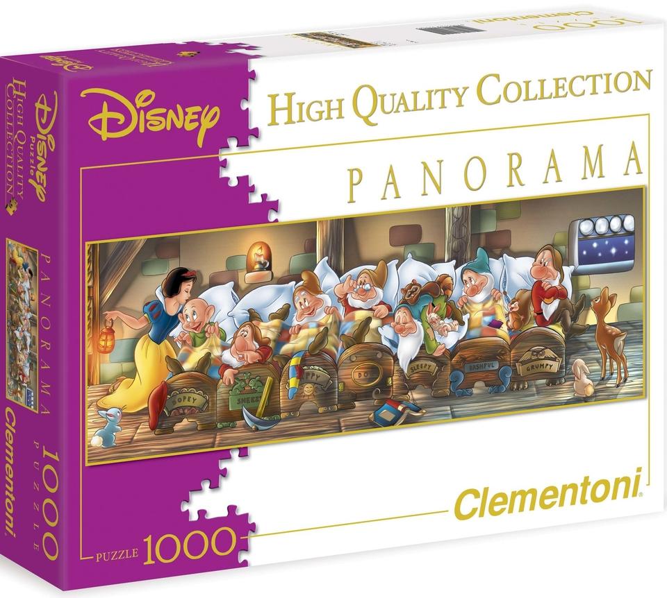 Clementoni Puzzle 1000 Snehulienka