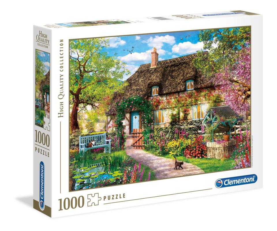 Clementoni Puzzle 1000 Stará chata