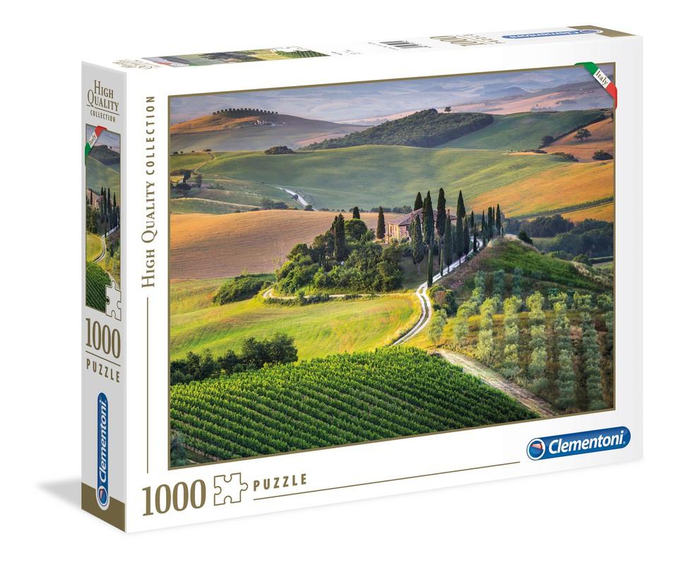Clementoni Puzzle 1000 Toskánsko