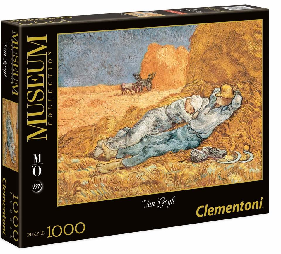 Clementoni Puzzle 1000 Van Gogh Siesta