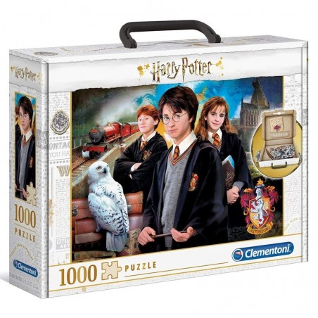 Clementoni Puzzle v kufríku 1000 Harry Potter