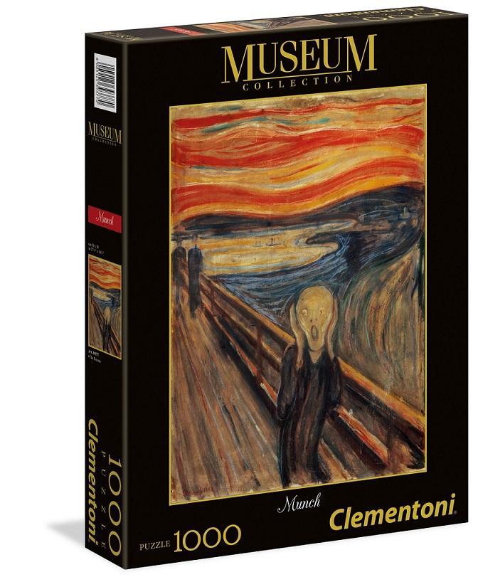 Clementoni Puzzle 1000 Munch/Výkrik