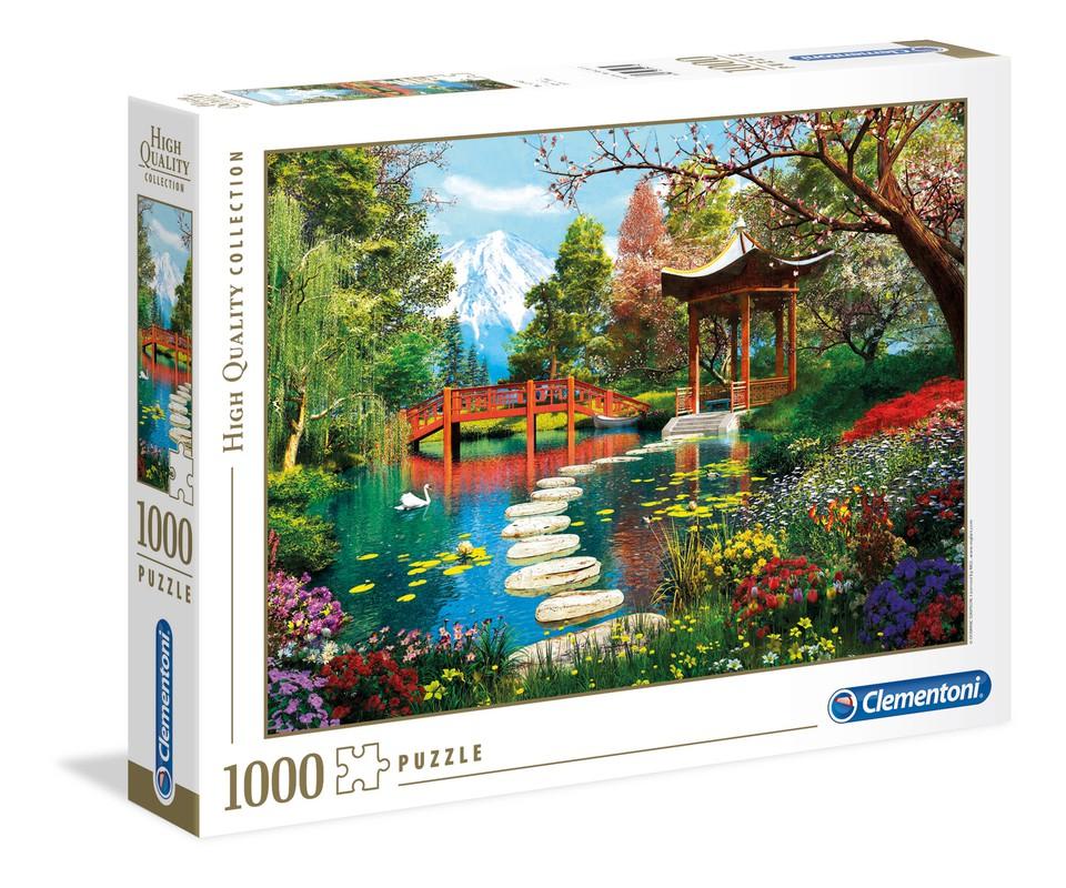 Clementoni Puzzle 1000 Záhrada Fuji