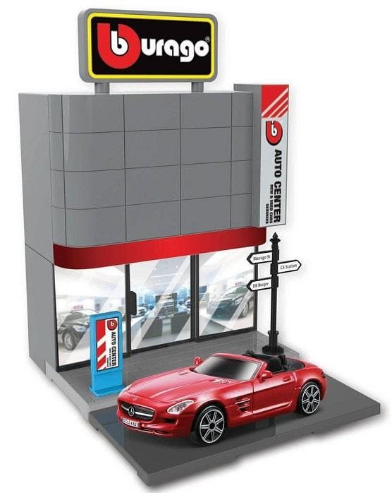 Bburago 1:43 Bburago city Car Dealer