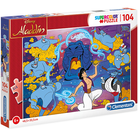 Clementoni Puzzle 104 Aladdin