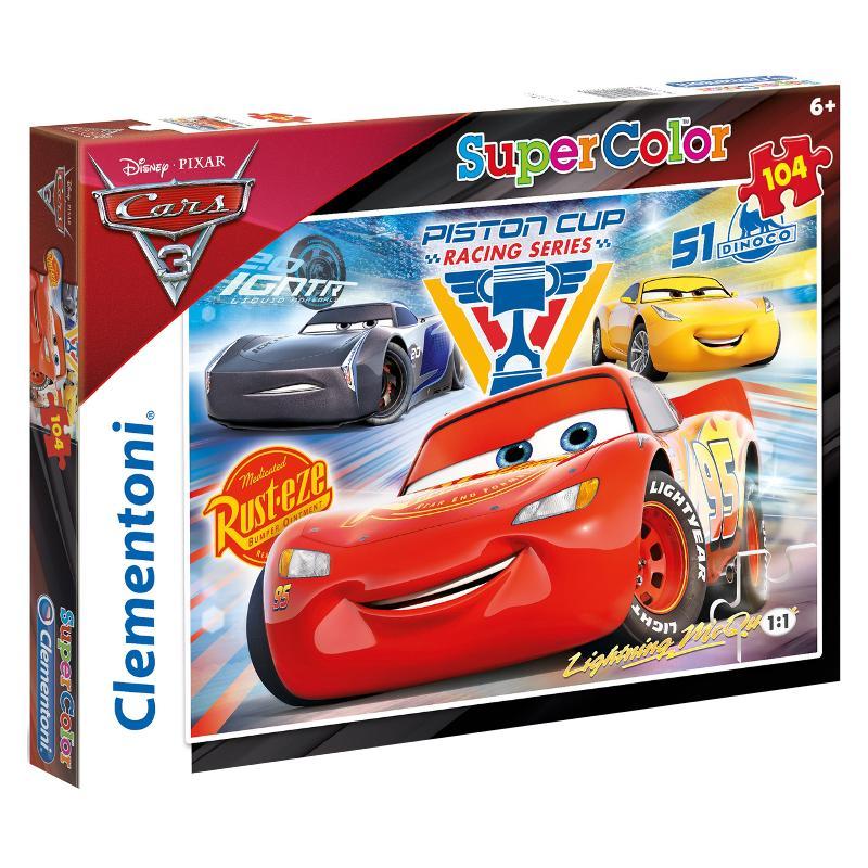 Clementoni puzzle 104 Cars