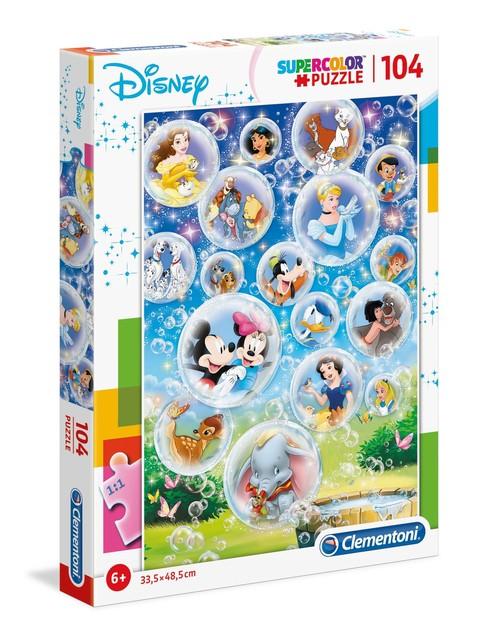 Clementoni puzzle 104 Disney postavičky