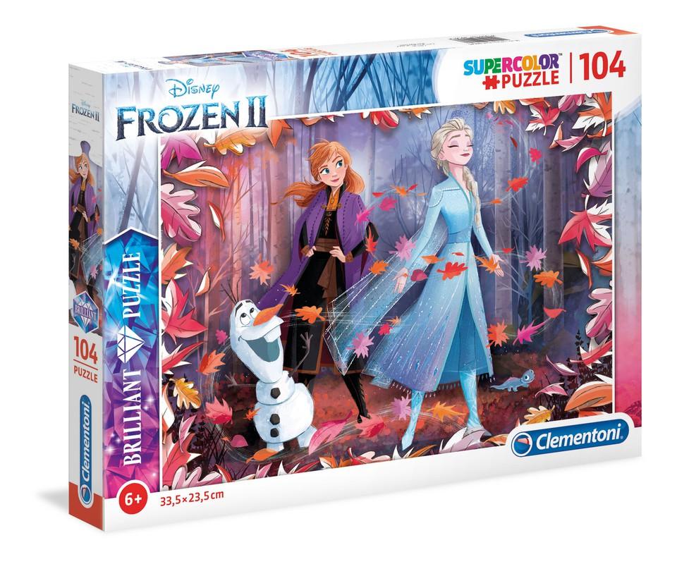 Clementoni Puzzle 104 Frozen2 brilliant