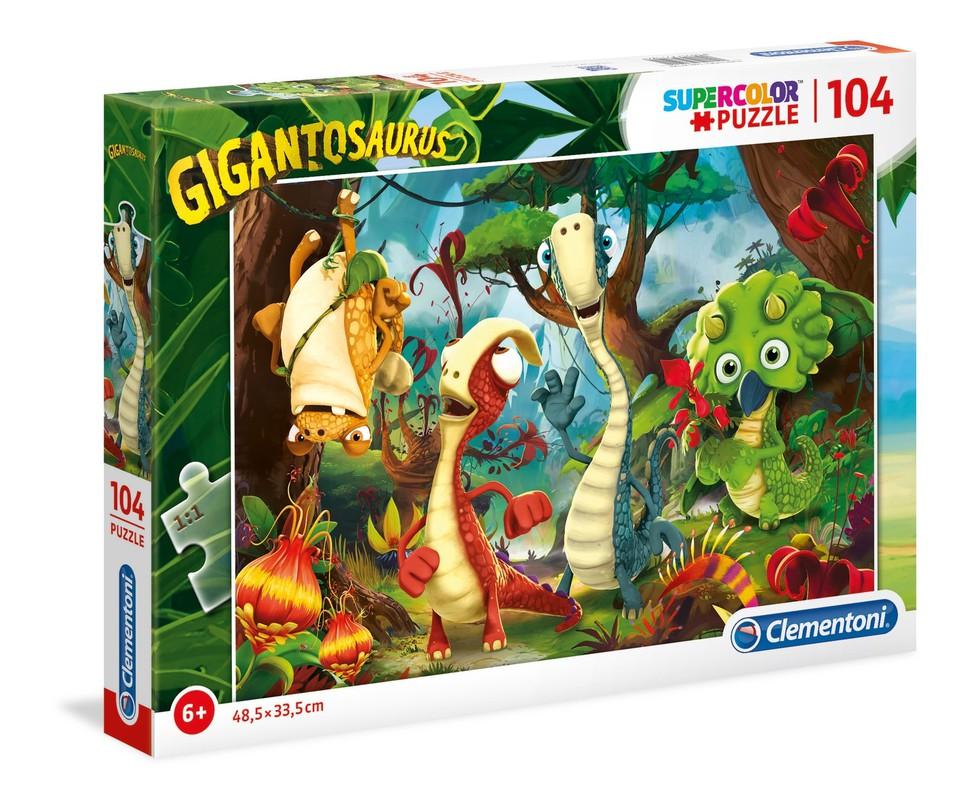 Clementoni Puzzle 104 Gigantosaurus