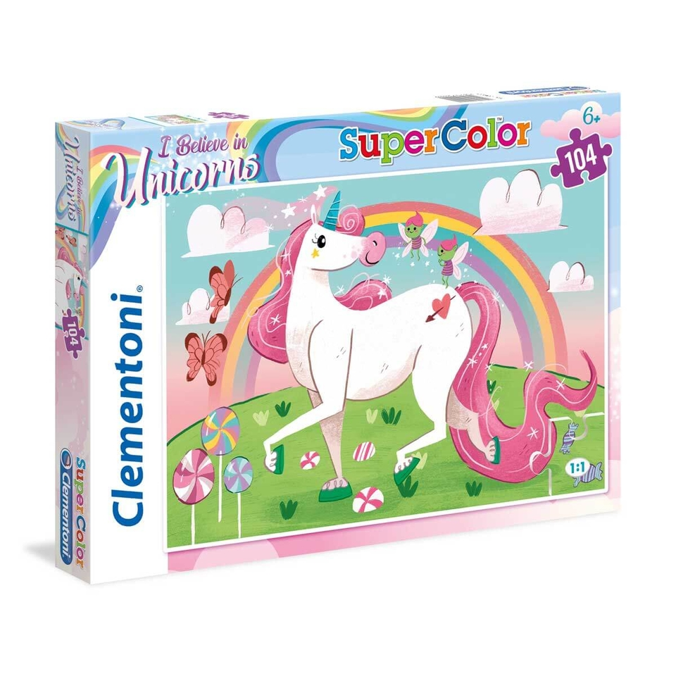 Clementoni puzzle 104 Jednorožec