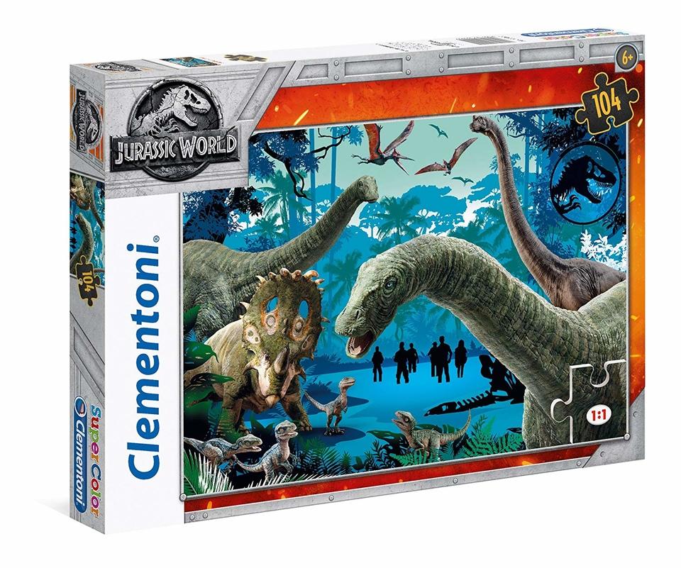 Clementoni puzzle 104 Jurský park
