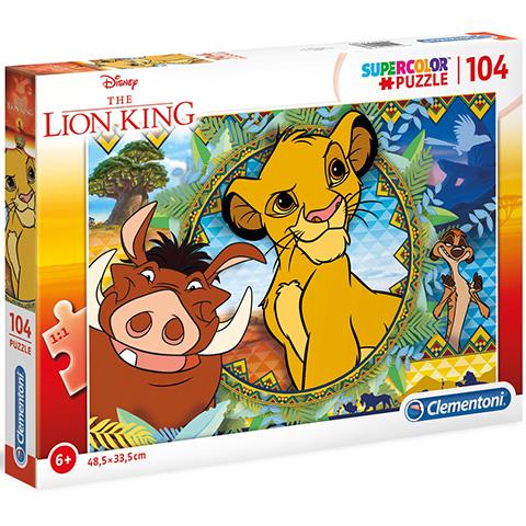 Clementoni Puzzle 104 Leví kráľ