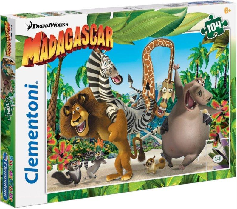 Clementoni puzzle 104 Madagaskar