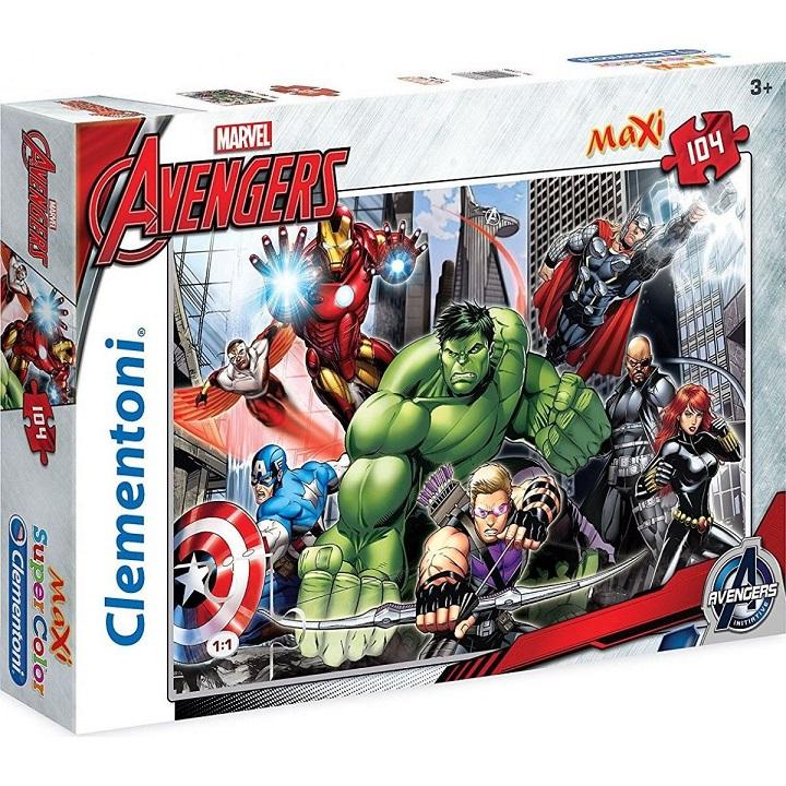 Clementoni Puzzle 104 Maxi Avengers