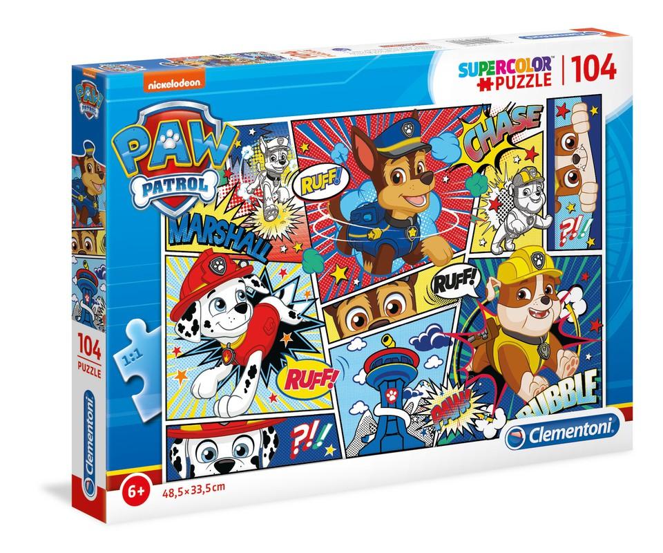Clementoni Puzzle 104 Paw Patrol