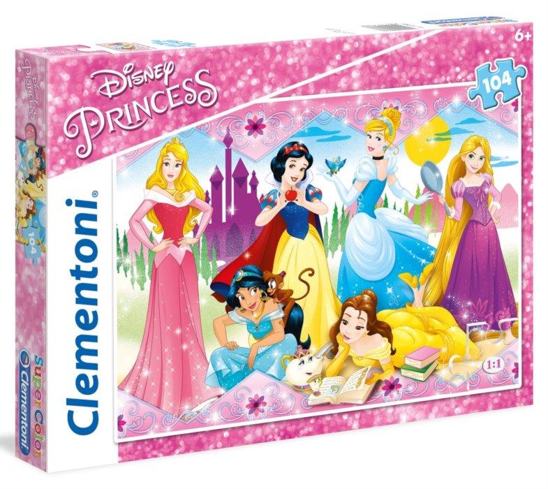 Clementoni puzzle 104 Princezné
