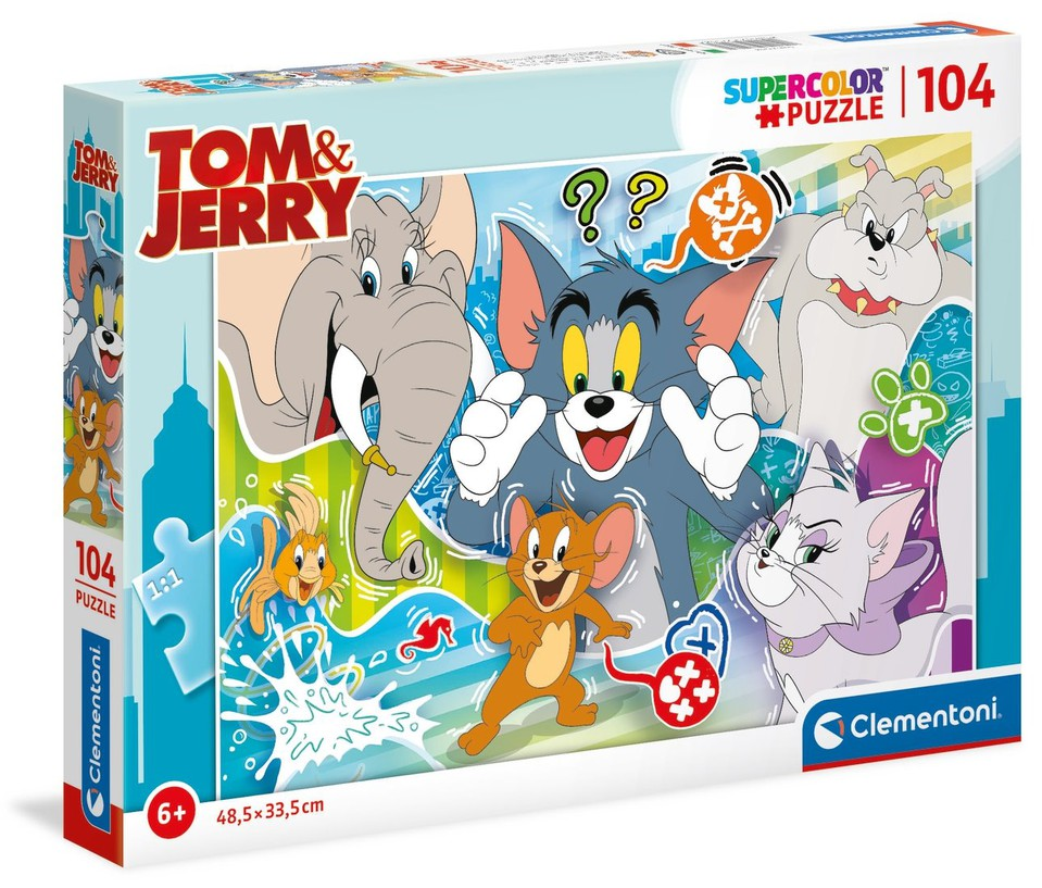 Clementoni Puzzle 104 Tom a Jerry