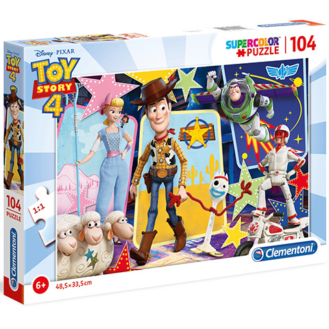Clementoni Puzzle 104 Toy Story4