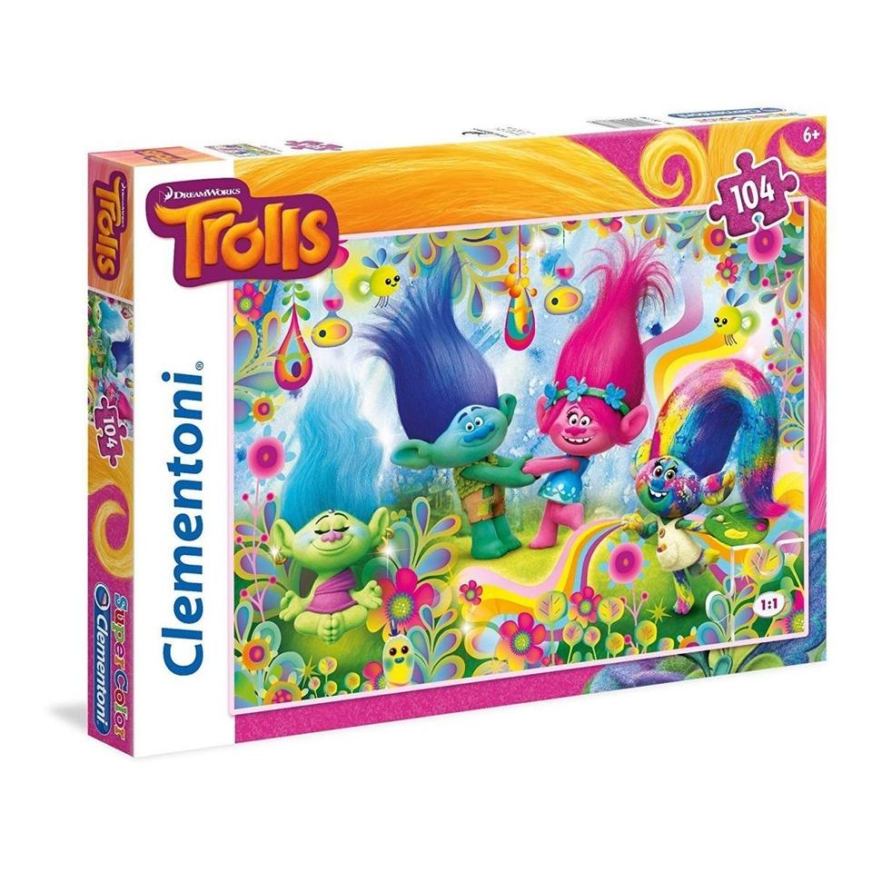 Clementoni puzzle 104 Trolls