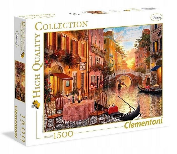 Clementoni Puzzle 1500 Benátky