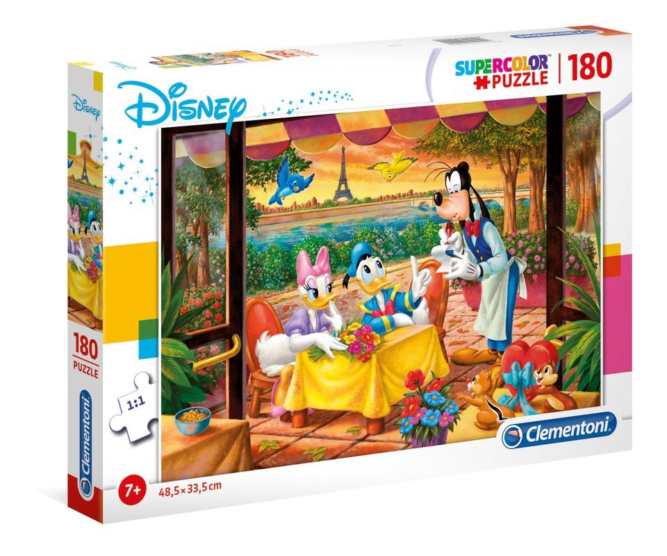 Clementoni Puzzle 180 Mickey Mouse a jeho kamaráti