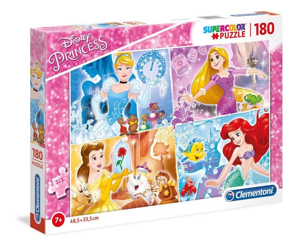 Clementoni Puzzle 180 Princezné