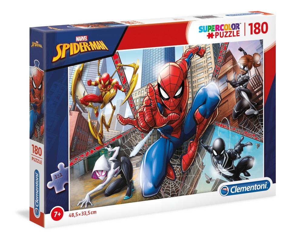 Clementoni Puzzle 180 Spiderman