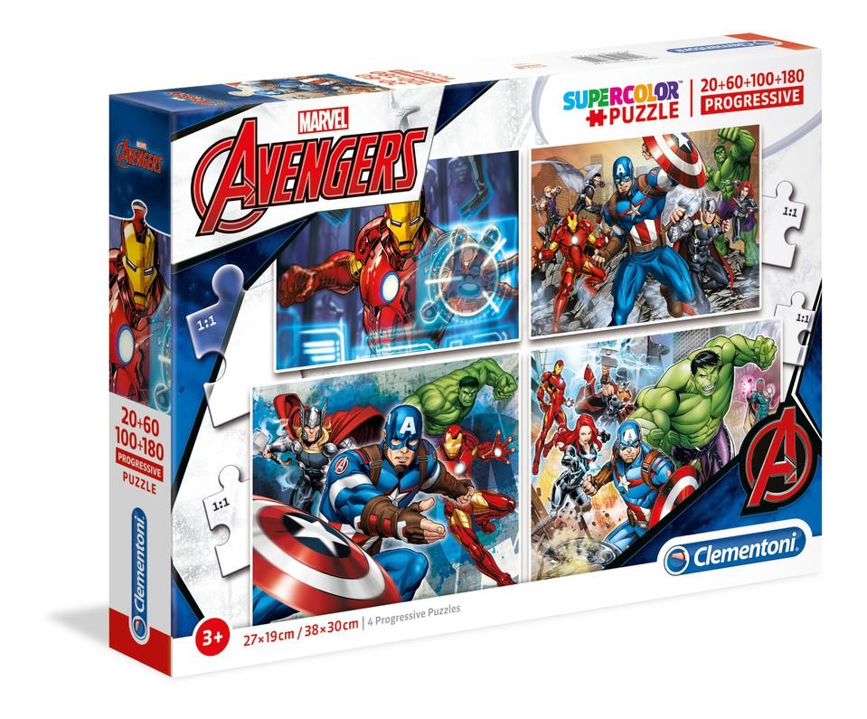 Clementoni puzzle4v1 Avengers