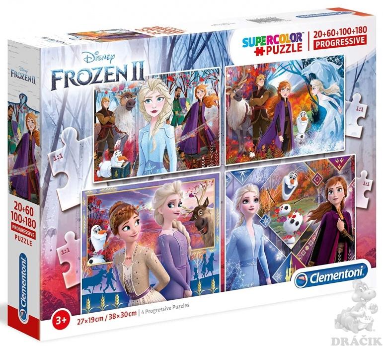 Clementoni puzzle4v1 Frozen2