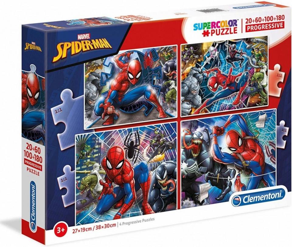 Clementoni puzzle4v1 Spiderman