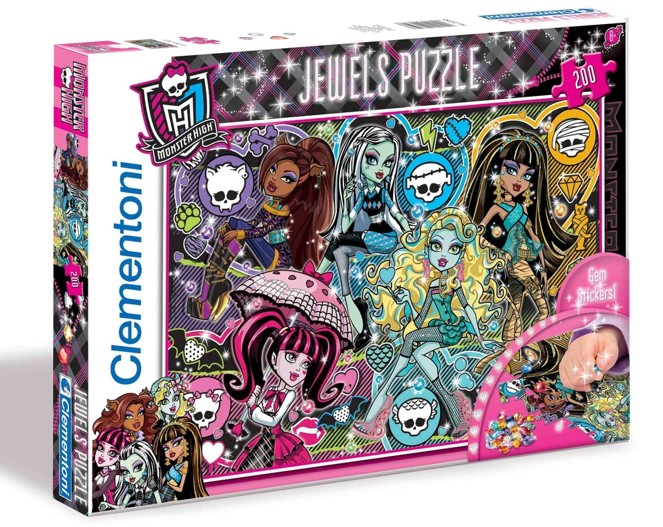 Clementoni Puzzle 200 Monster High