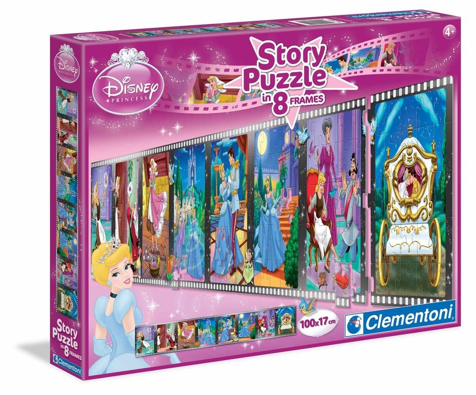 Clementoni Puzzle 200 Princezná