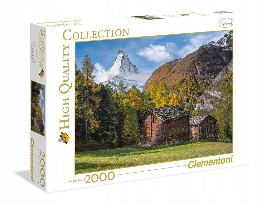 Clementoni Puzzle 2000 Matterhorn