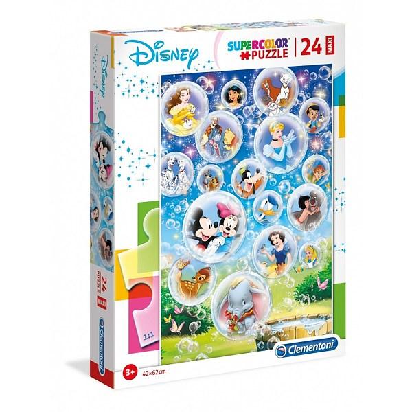 Clementoni puzzle maxi 24 Disney postavičky