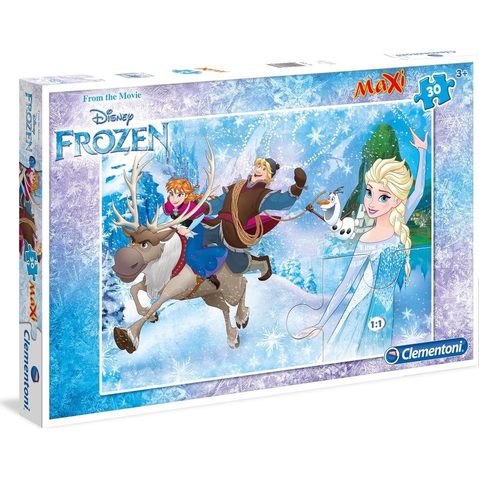Clementoni puzzle maxi 24 Frozen