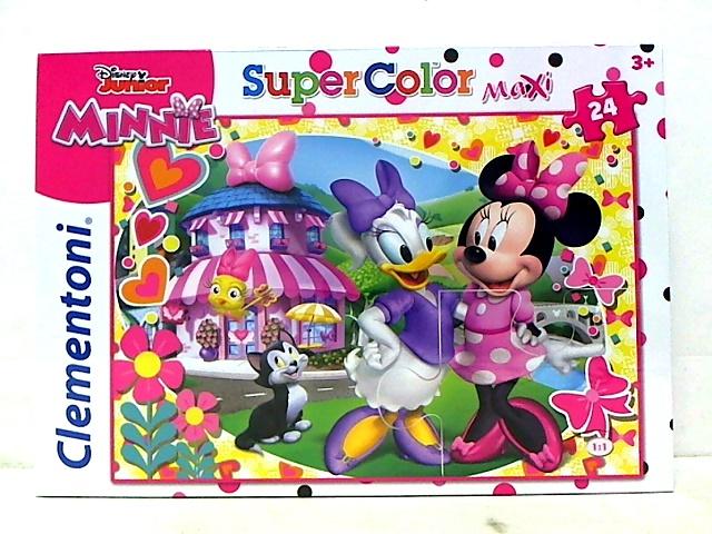 Clementoni puzzle maxi 24 Minnie